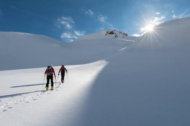 Skitouren im ewigen Eis. – Foto