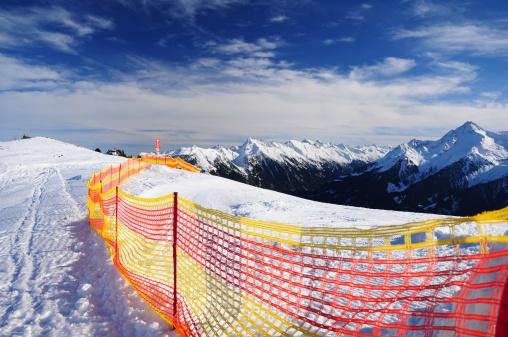 Ski Track Stockfoto und mehr Bilder von Alpen