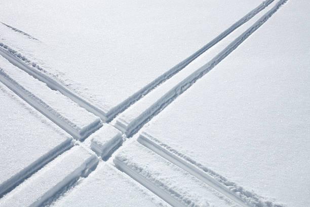 Ski tracks in the snow picture id183581771?b=1&k=6&m=183581771&s=612x612&w=0&h=b4ftd63mtizr3kvmbmmmril8odquuy4g31pv8h wk2i=