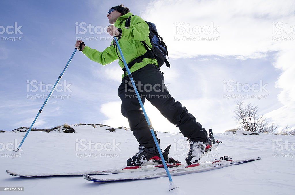 Ski Travesia stock photo