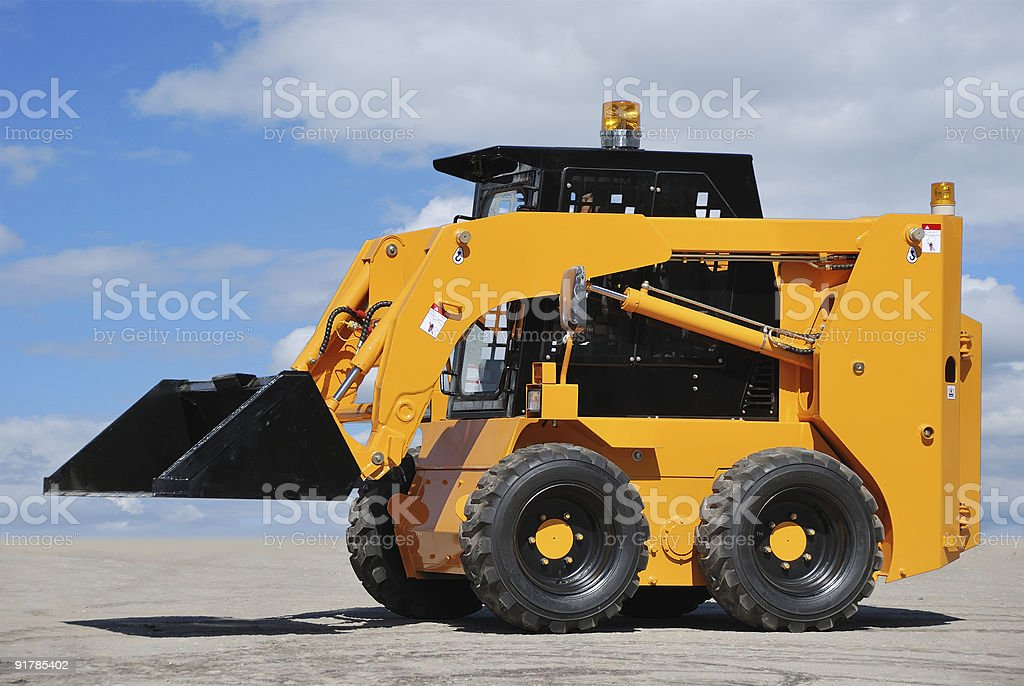 skid steer loader royalty-free stock photo