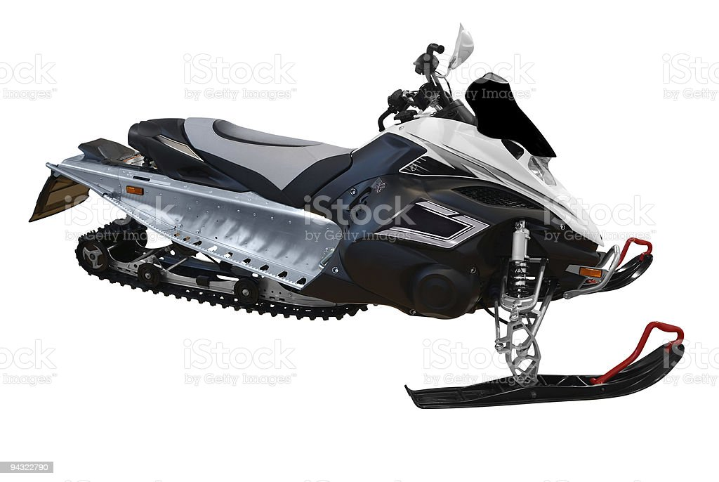 ski-doo royalty-free stock photo