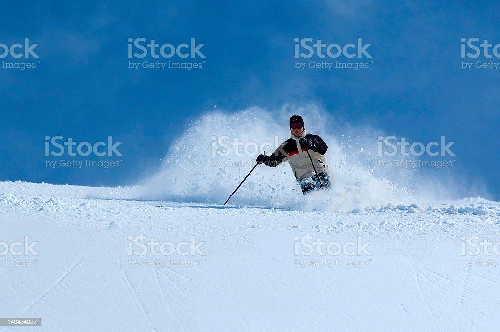 skier 4 royalty-free stock photo