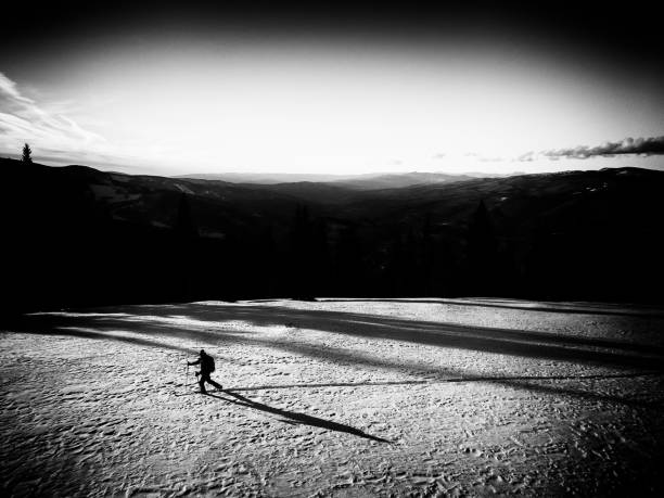 Skier in backcountry skiing scenic mountain landscape picture id901235392?b=1&k=6&m=901235392&s=612x612&w=0&h= qd5rck0phm3aw7qrbblc jd5wkjsgsjgzh5ymsaq1m=