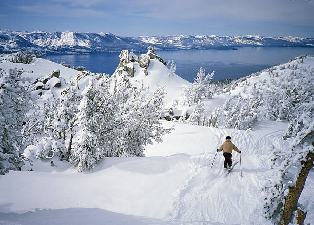 Skier in fresh snow above alpine lake tahoe picture id157433025?b=1&k=6&m=157433025&s=612x612&w=0&h=dgqa8xlln5sq87umwenhtsv8pvpnsbebgw8qsze0n2q=