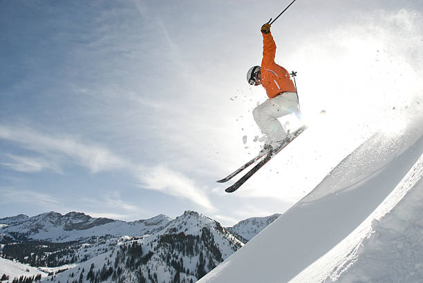 Skier jumping ridge picture id152178812?b=1&k=6&m=152178812&s=612x612&w=0&h=uxiw2h88vwczdlafxbnebuicqnaeqgtup1ipwckxq a=