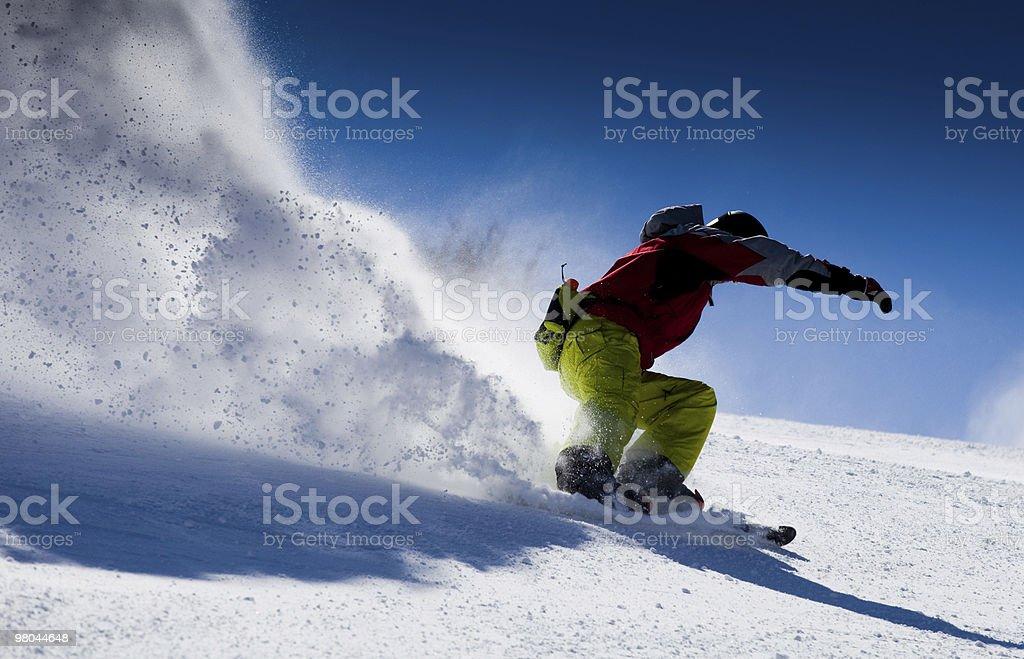 Skifahrer – Foto