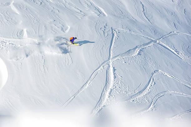 Skier skiing offpiste on a beatiful mountain slope picture id534314682?b=1&k=6&m=534314682&s=612x612&w=0&h=hl61apyvb7dw6h25edm7fkzhdcfondl1cwwq78bzyum=