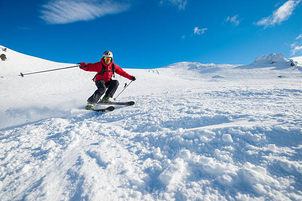 Skier turning on a blue sky day picture id508514883?b=1&k=6&m=508514883&s=612x612&w=0&h=y4oypfni9uudc 5fbizxpjs5qhlpk4klazqrqdqmkai=