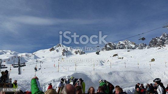istock Skiers enjoying lunch in Ischgl 513250164