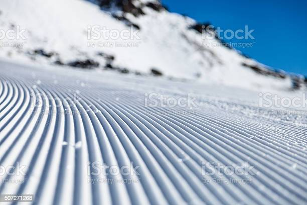 Photo of Skiing background from a low angled view