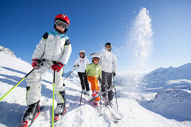 Skiing family in mountains picture id629217482?b=1&k=6&m=629217482&s=612x612&w=0&h=judyh9wuzpmhr7n7hae3ozq kicmbifekozi6ogm0i0=