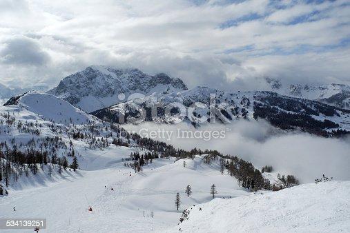 ski slope in Nassfeld / Austria