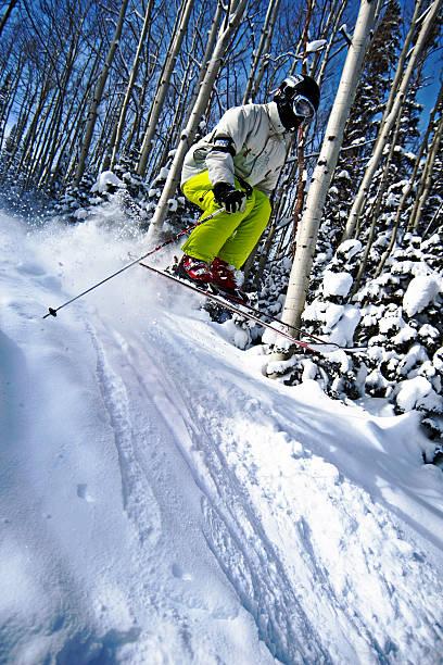 Sur un saut à ski - Photo