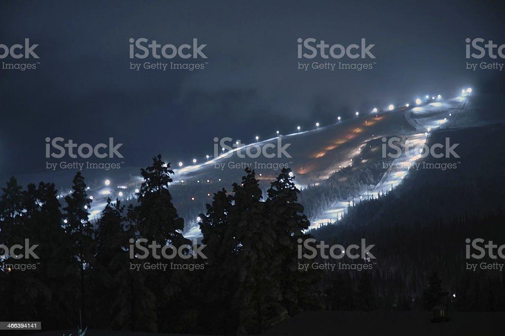 skiing resort stock photo