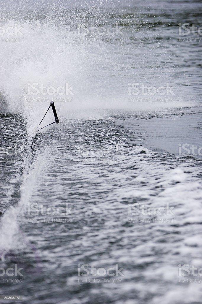 Esquí de caída libre foto de stock libre de derechos
