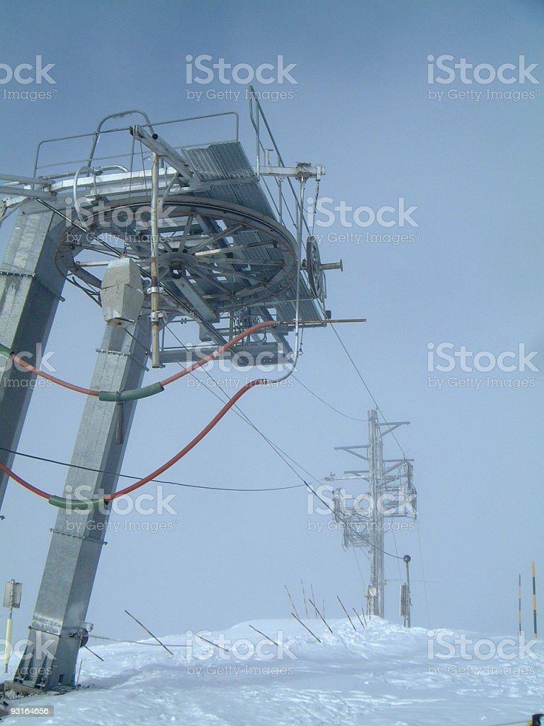 Skilift 02 royalty-free stock photo