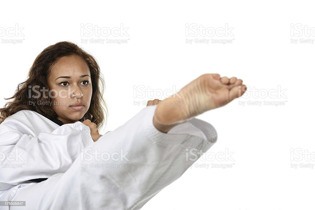Skill and focus stock photo