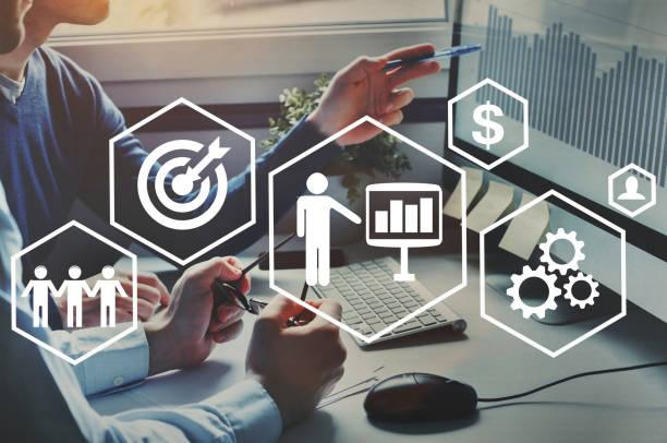 kompetenzmanagement und business education konzept - fähigkeit stock-fotos und bilder