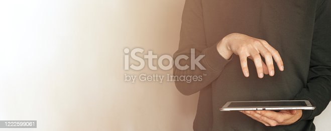 904263506 istock photo Skilled afro american male IT professional freelancer working on clients project updating software improving code of application working in coffee shop using laptop computer and wireless internet 1222599061