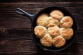 istock Skillet Biscuits 1254872126