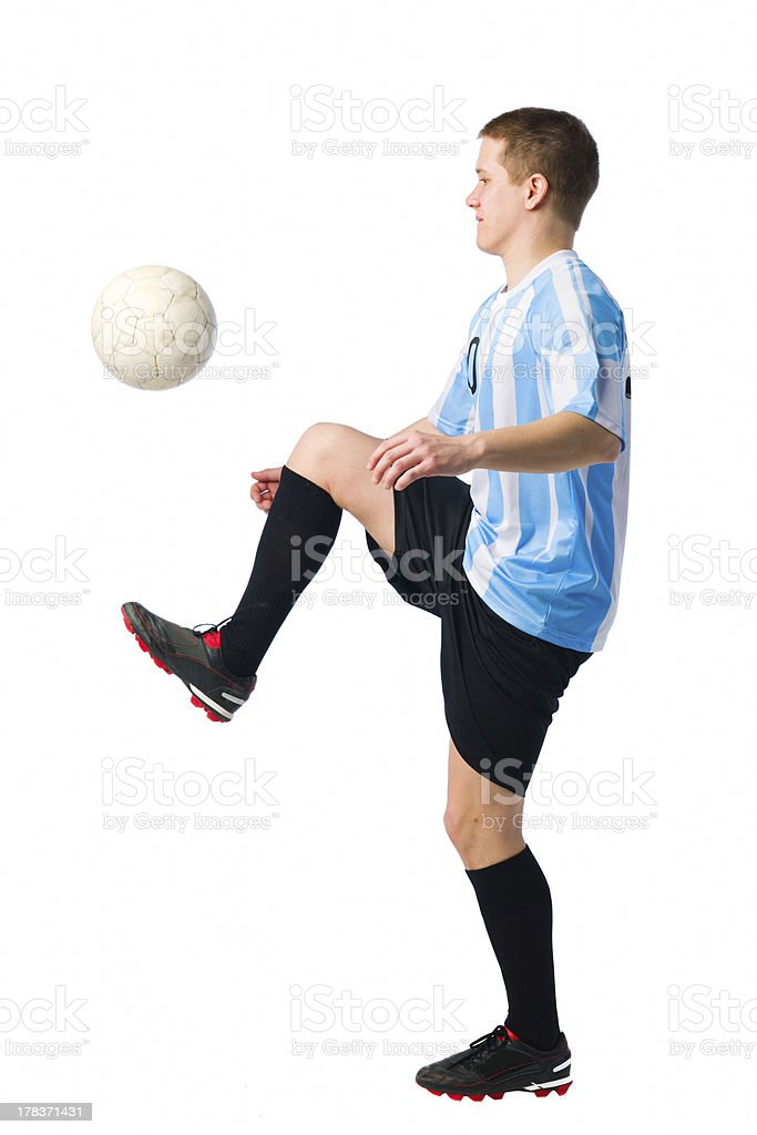 Skillful player stock photo