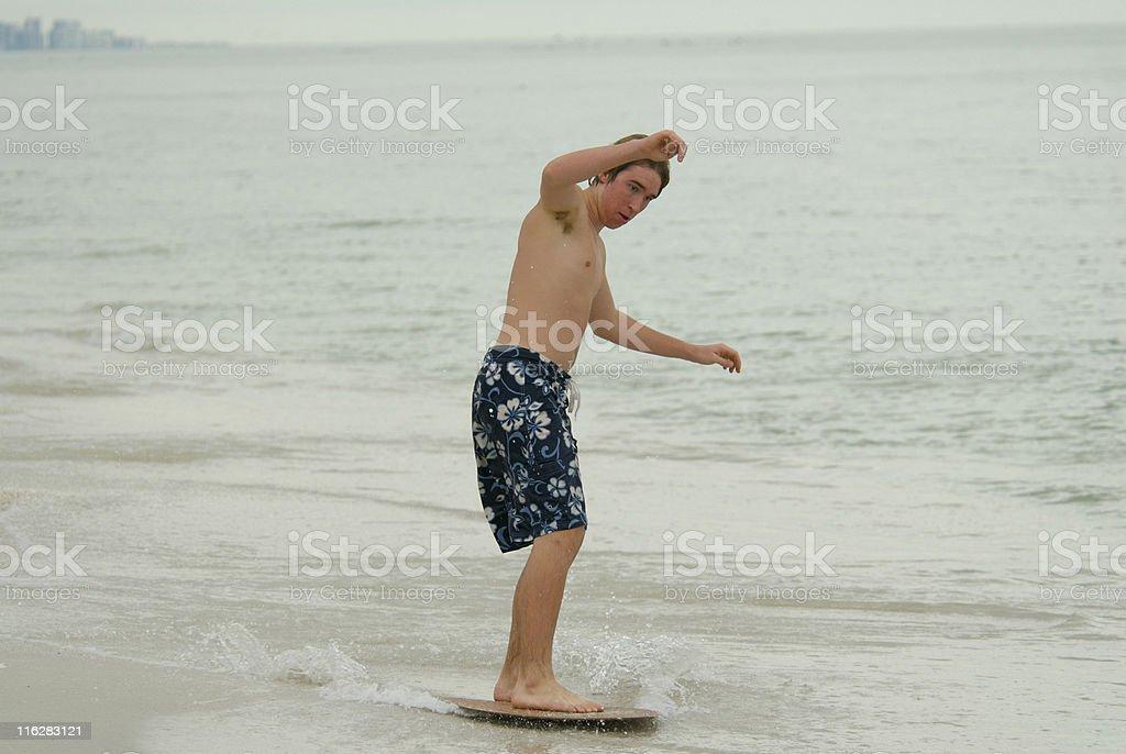 Skimming stock photo