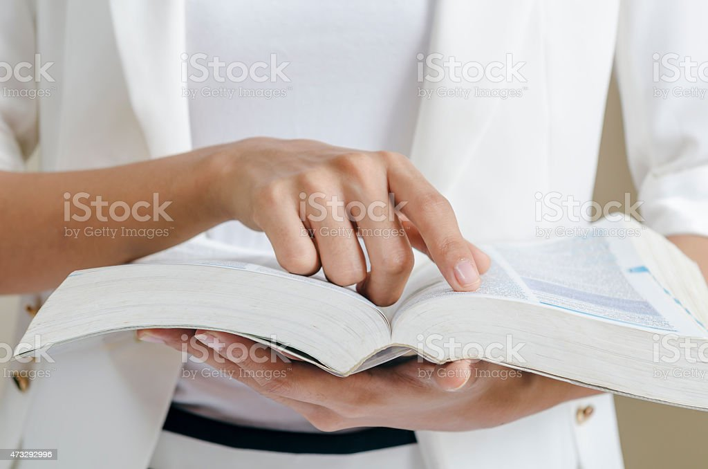 skimming through stock photo