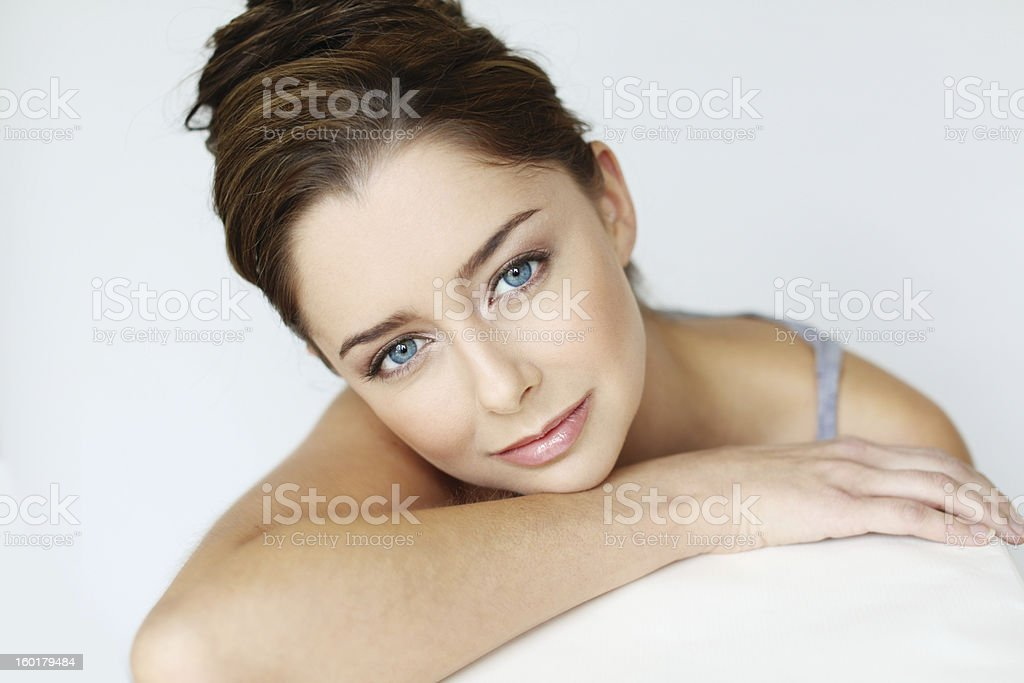 Skin care after 25 royalty-free stock photo