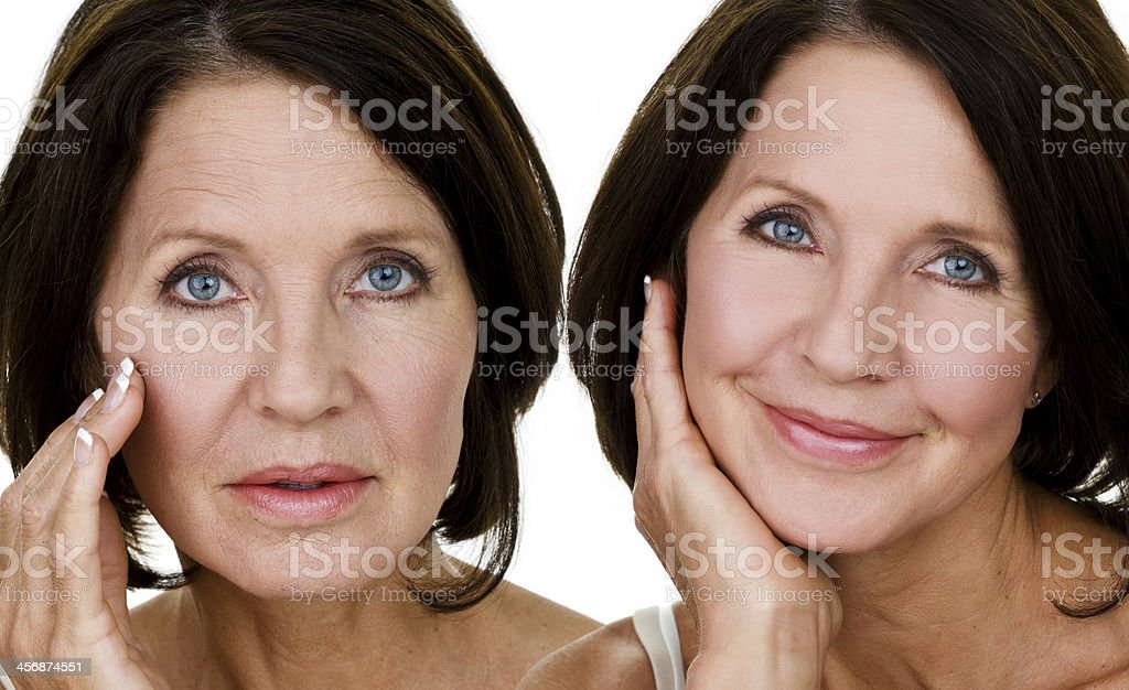 Skin care concept stock photo