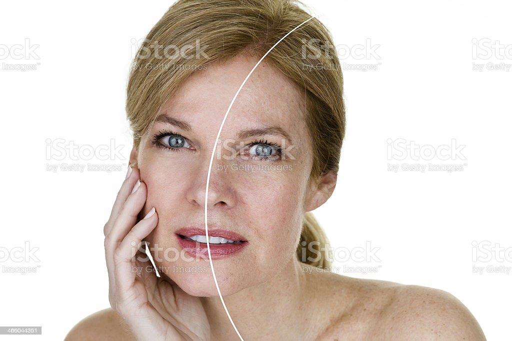 Skin care concept stock photo