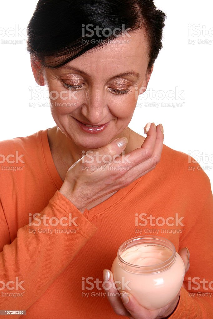 Skin care stock photo