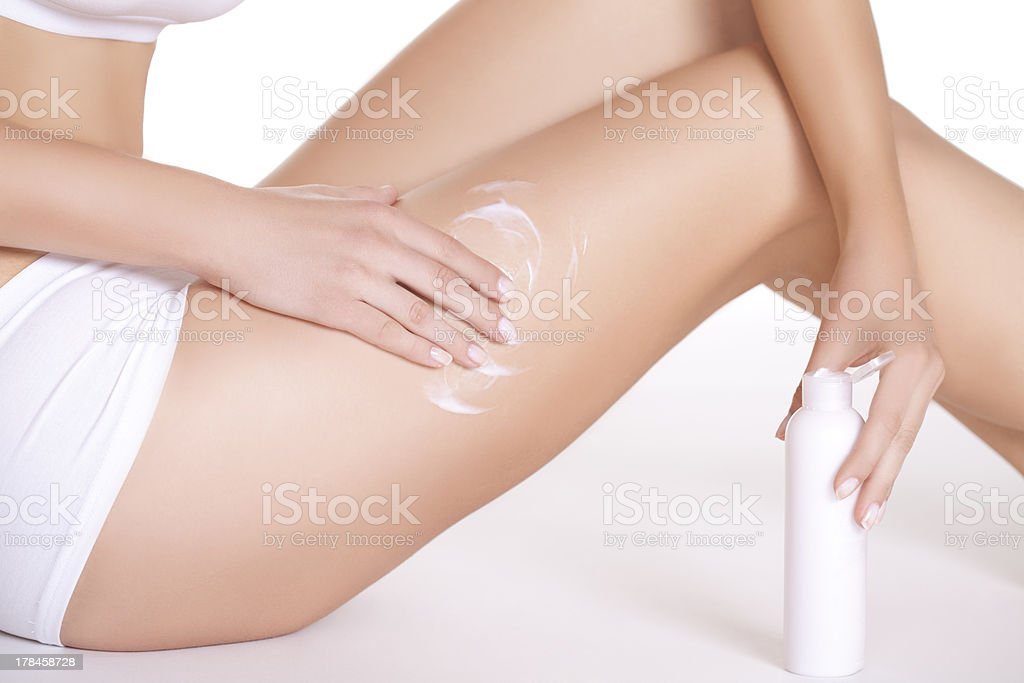 Skin care. stock photo