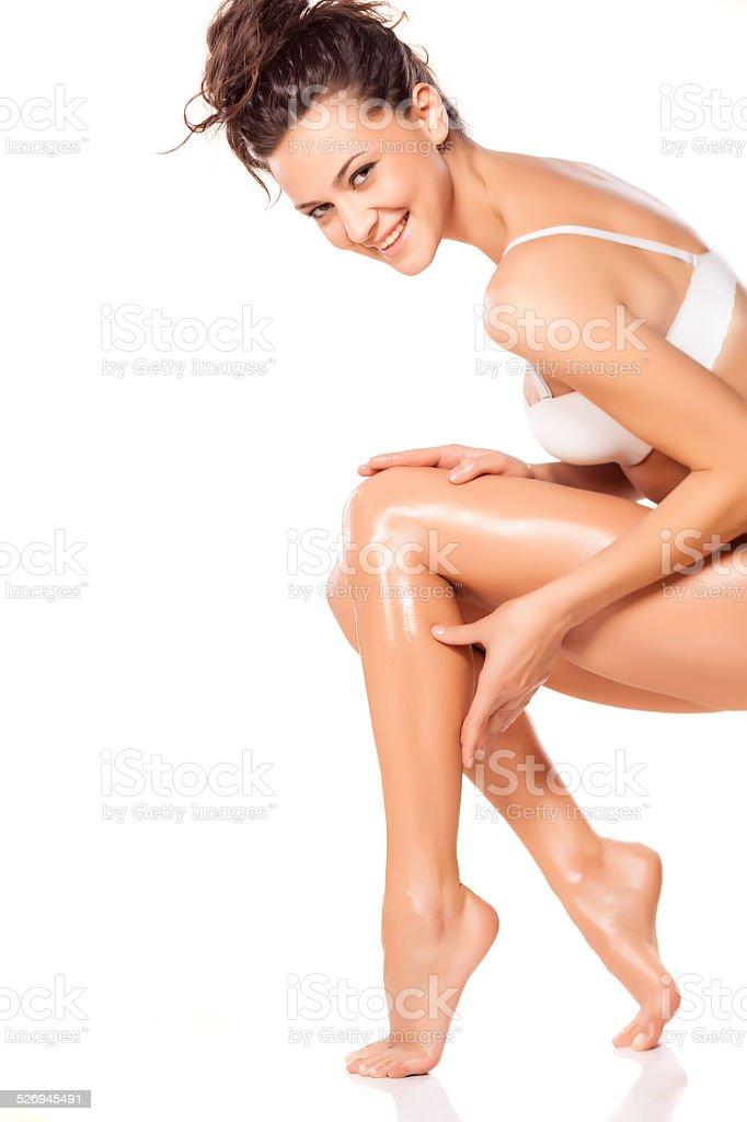 Skin care stock photo
