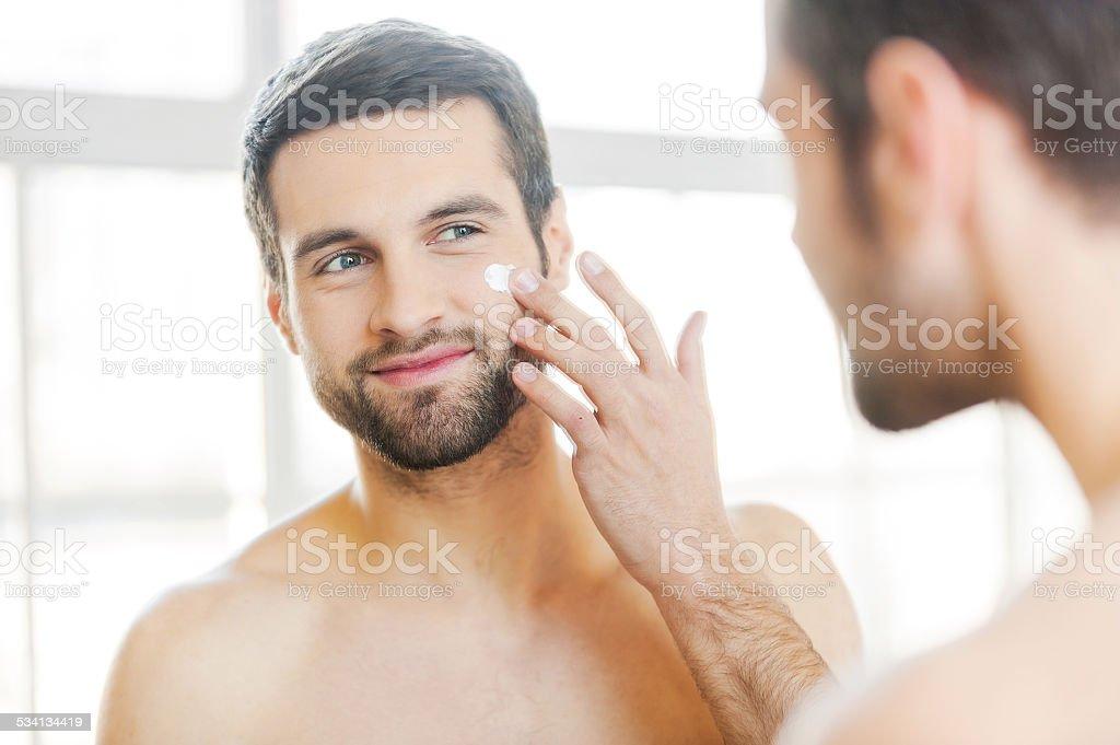 Skin care. stock photo