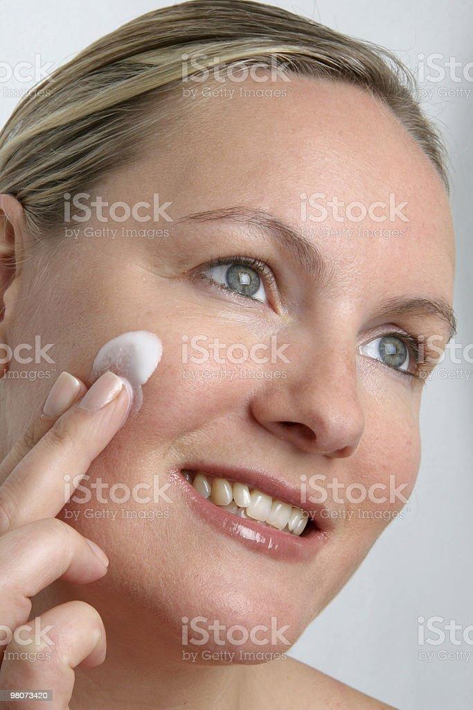 Cura della pelle foto stock royalty-free