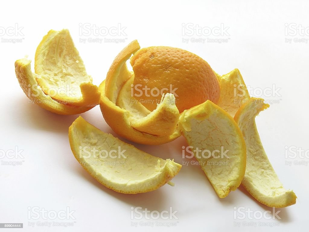 КОЖУ оранжевый фрукты Стоковые фото Стоковая фотография