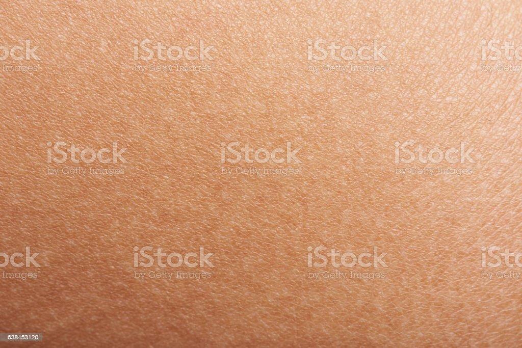 Skin of woman hand stock photo