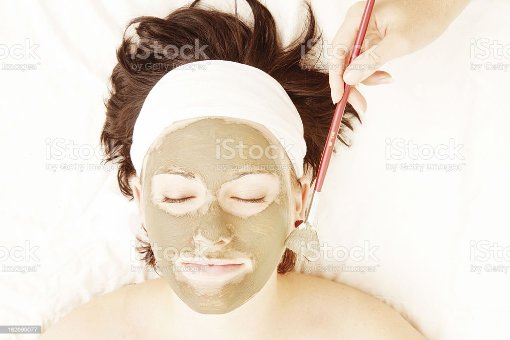 Skin Treatment royalty-free stock photo