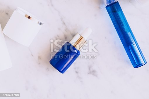 istock Skincare beauty products flatlay 870624758