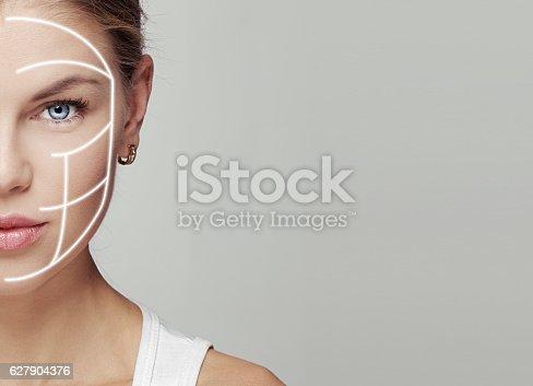 istock Skincare woman 627904376