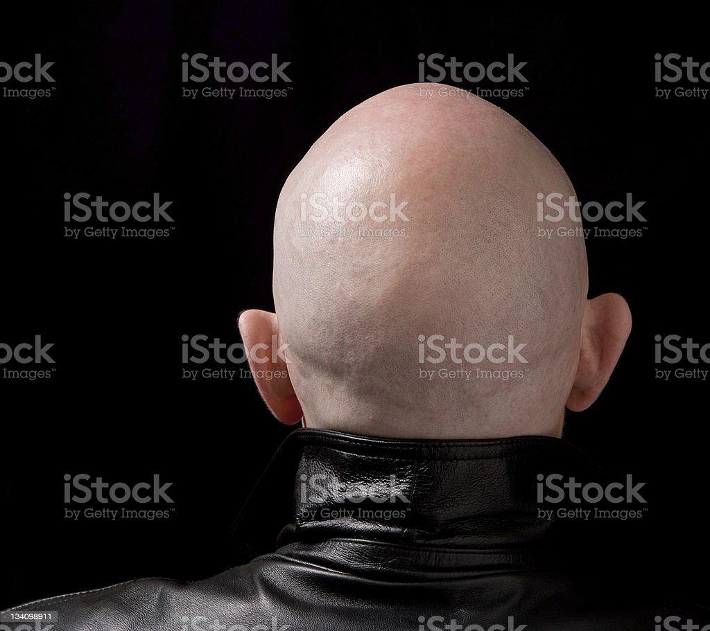 Skinhead stock photo