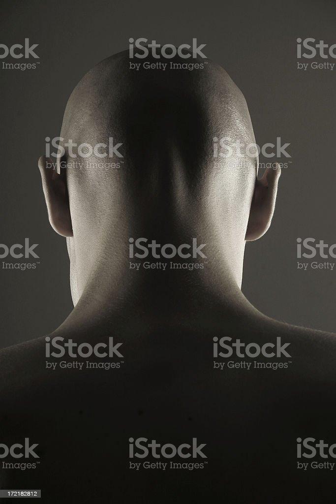 Skinhead royalty-free stock photo