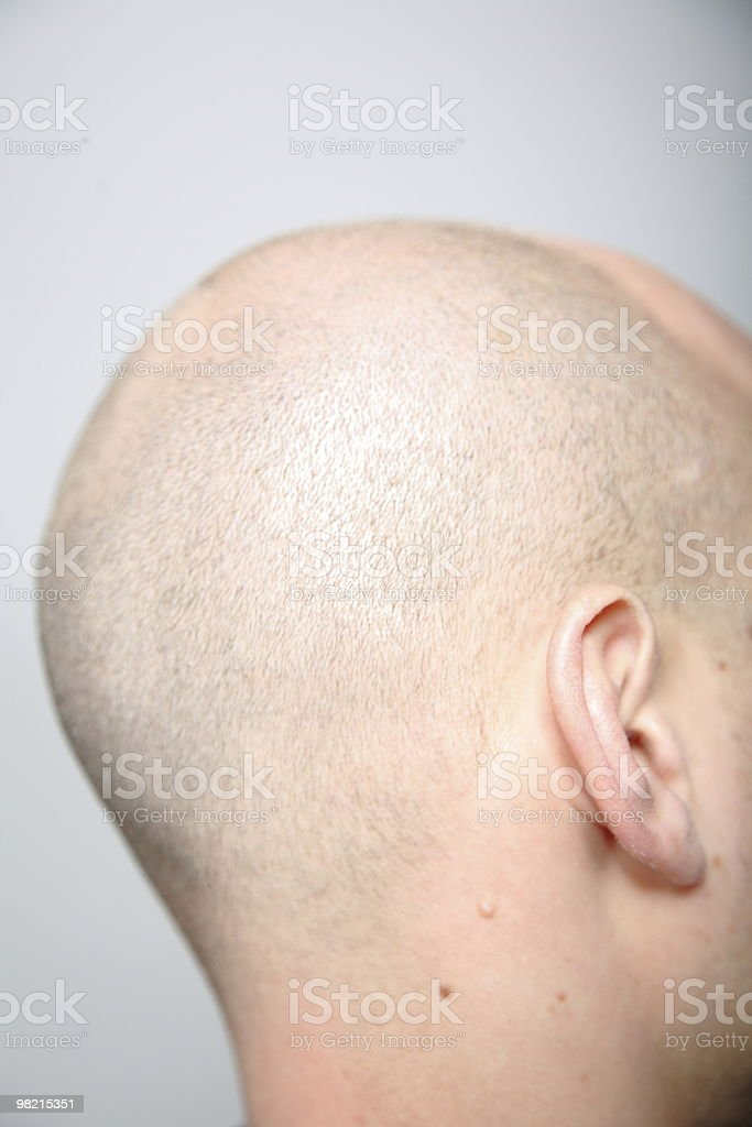 Skinhead royalty-free stock photo