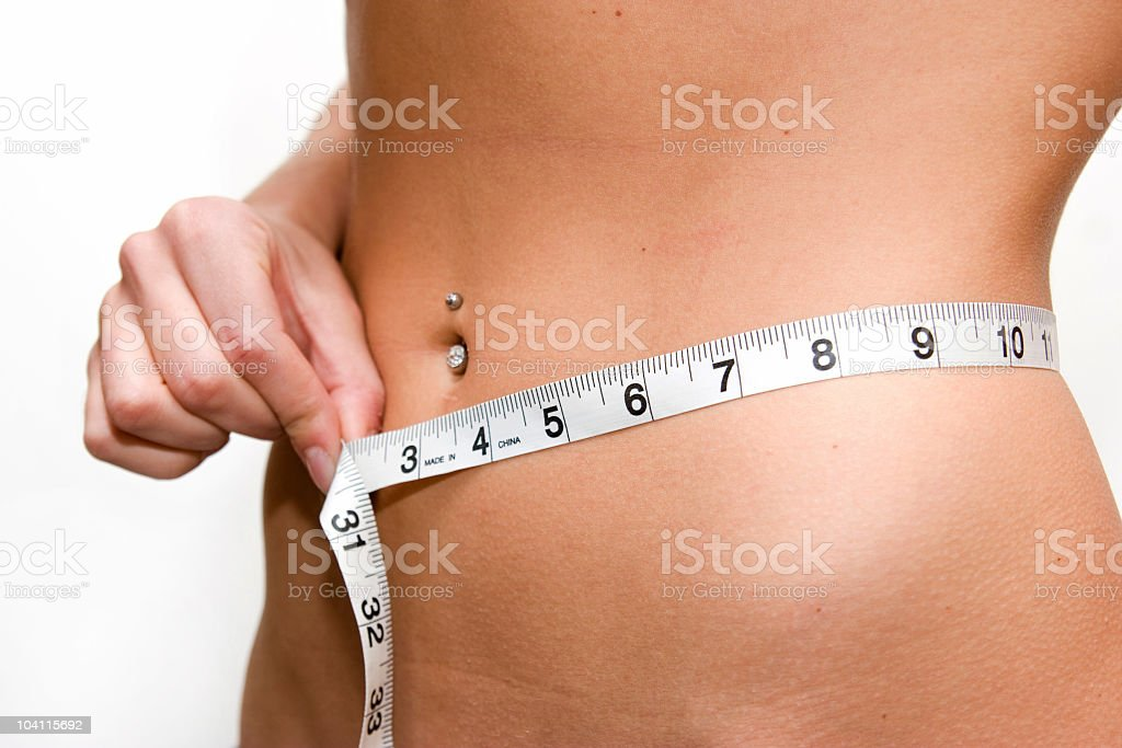 Skinny enough? royalty-free stock photo