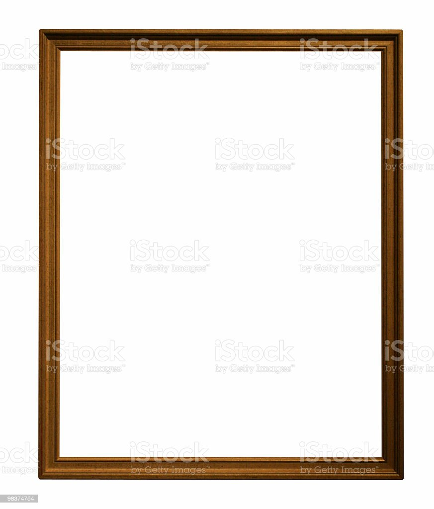 Skinny frame royalty-free stock photo