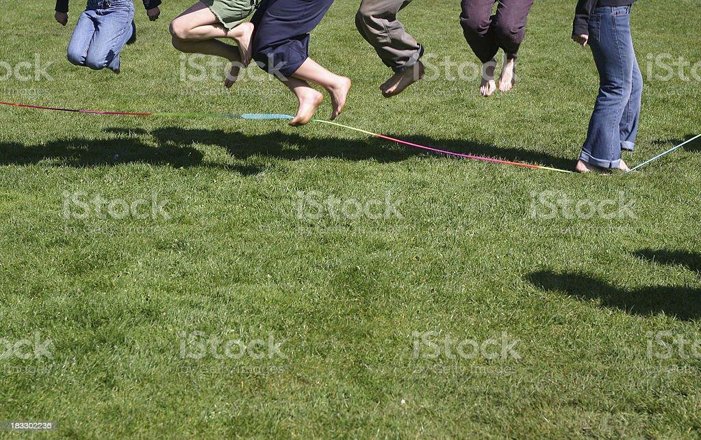 Skipping Rope royalty-free stock photo