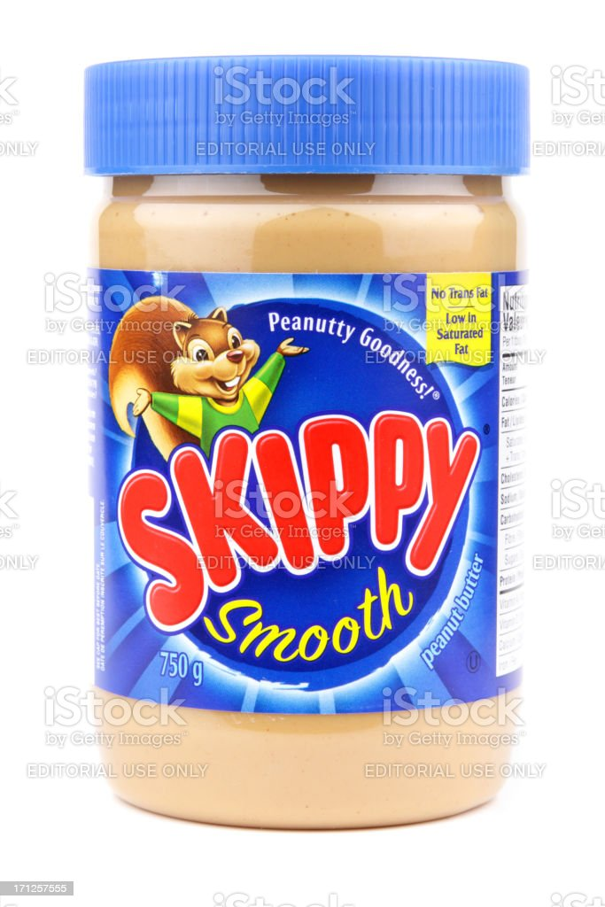 Skippy Peanut Butter royalty-free stock photo