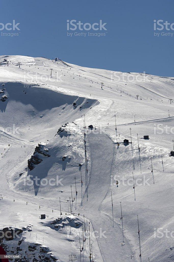 skirun stock photo