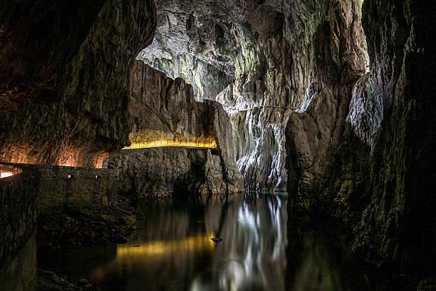 Höhlen von natürlichen Heritage Site in Slowenien – Foto